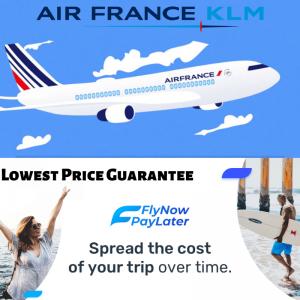 AirFrance Paylatertickets